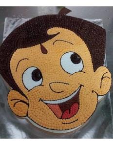 Chotta Bheem Shape Cake