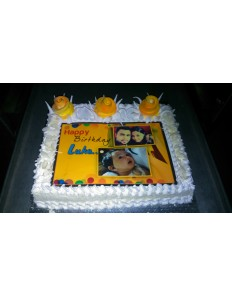 Edible Photo Sheet ( Fresh Cream )