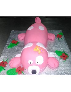 Pet Dog Shape (Custom Cake)