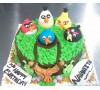 Angry Bird (Custom Cake)