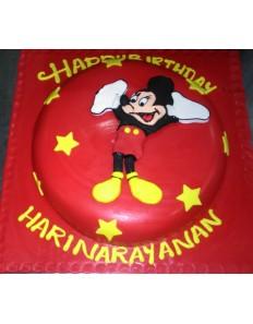 Micky Mouse (Custom Cake)