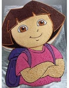 Dora Shape Cake