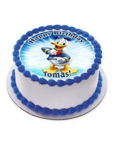 Donald Duck Photo cake