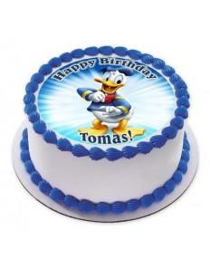 Donald Duck Photo cake