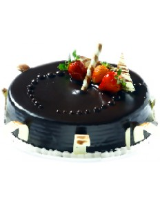Dark Choco Truffle with Strawberry